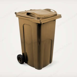 Wheelie Bin 240 Litre | Brown colour