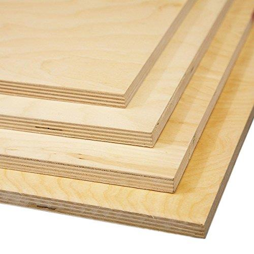 Birch Plywood 6.5mm - Superior Grade Birch BB 8ft x 4ft (2440mm x 1220mm) Pack of 12 sheets