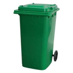 Green 120L Wheelie Bin