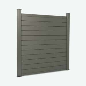Charcoal Grey Composite Fence Panels