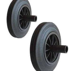 Wheelie Bin Wheels (Pair) – Pair of Replacement Wheels