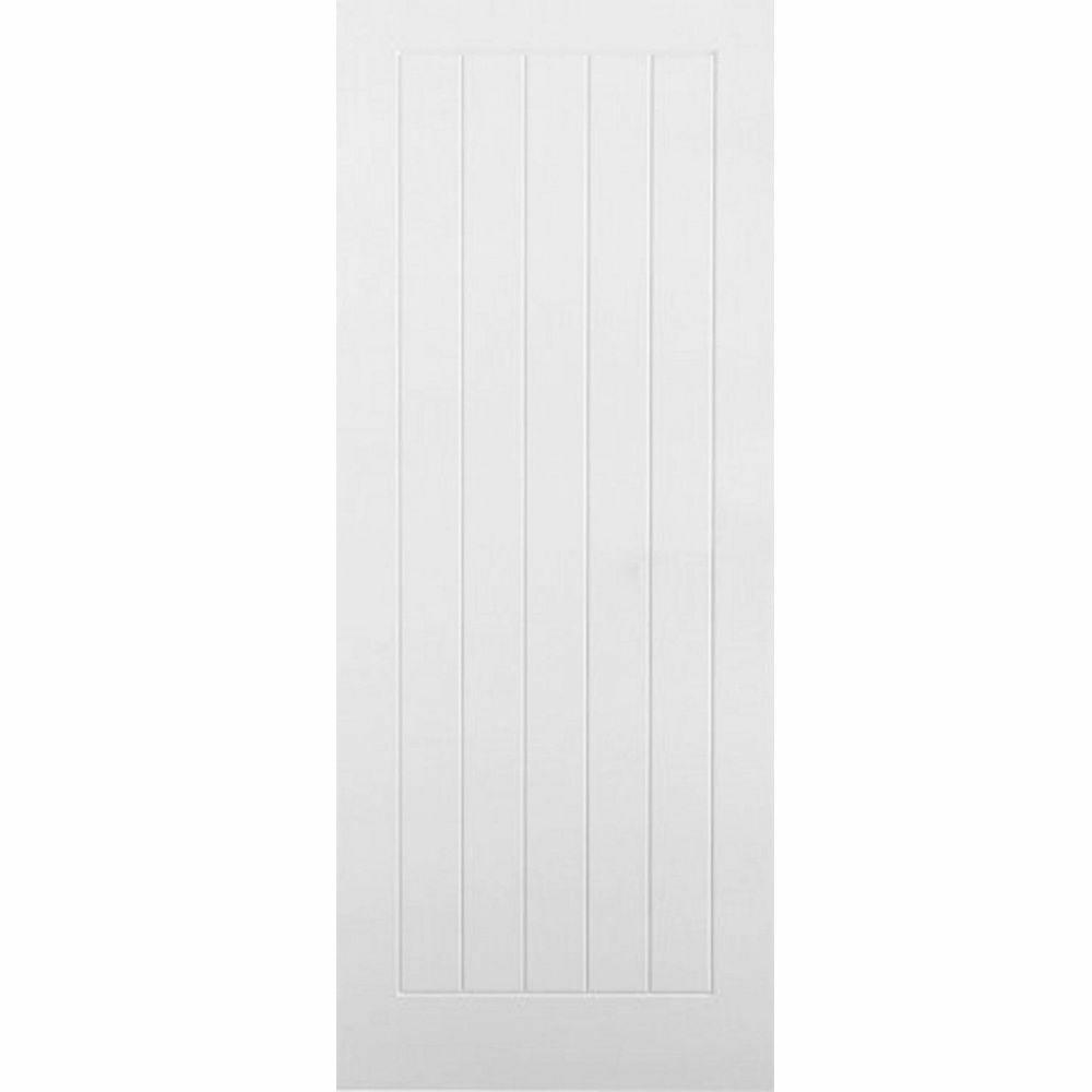 White Internal Door Vertical 5 Panel 33 X 78 Builders Marketplace