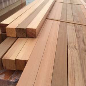 western red cedar fence posts 70mm
