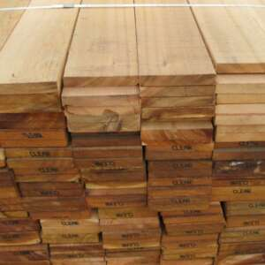 Sawn Western Red Cedar 25 x 102mm