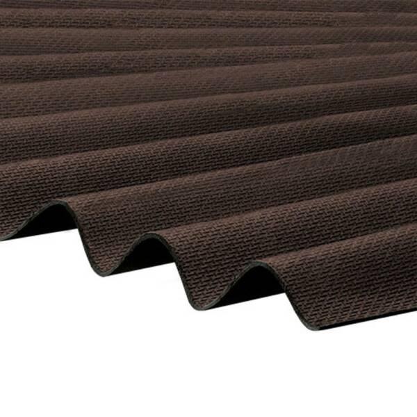 Corrapol Bitumen Brown Roofing Sheet