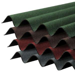 Corrapol Bitumen Corrugated Roofing Sheets