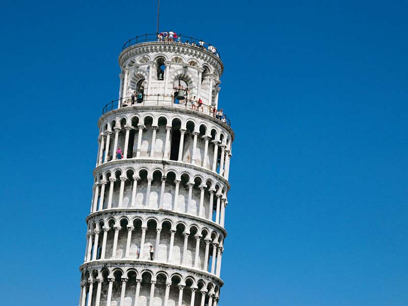 Leaning Tower of Pisa Construction Failure