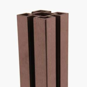 Brown Composite Fence Post
