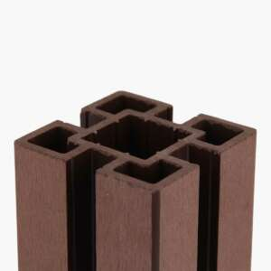Brown Composite Fence Post Top
